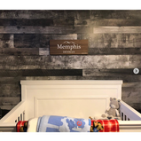 Wooden Baby Name Sign