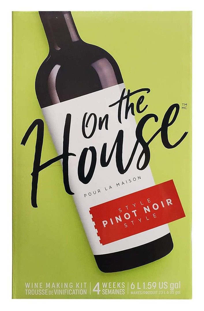 Pinot Noir Style   On the House