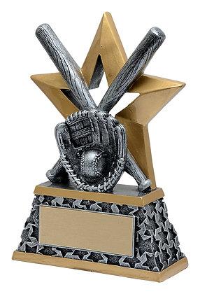 Rockstar Baseball Trophy