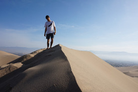 The Escape Movement | Huacachina, Peru
