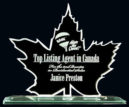 Maple Leaf Glass Award