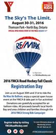YMCA Road Hockey Flyer Back