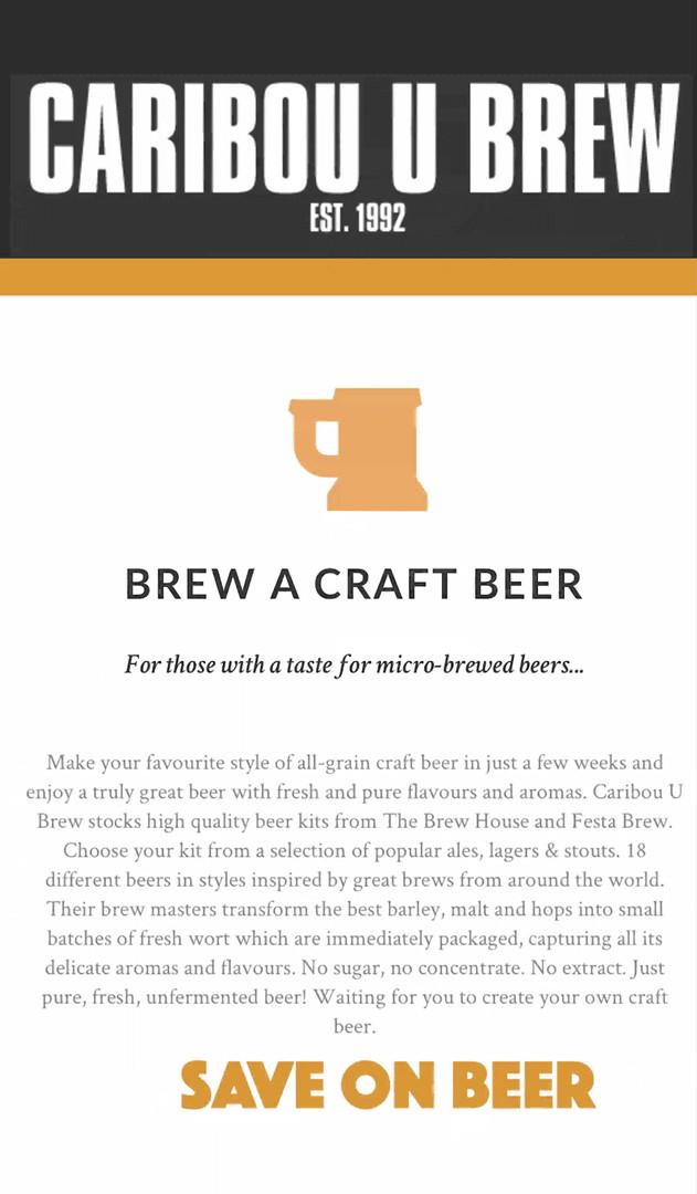 Caribou U Brew