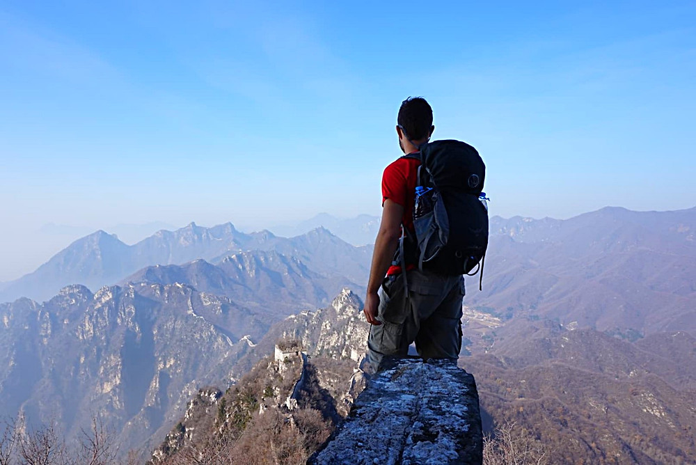 Backpacking the Great Wall of China with Osprey backpack