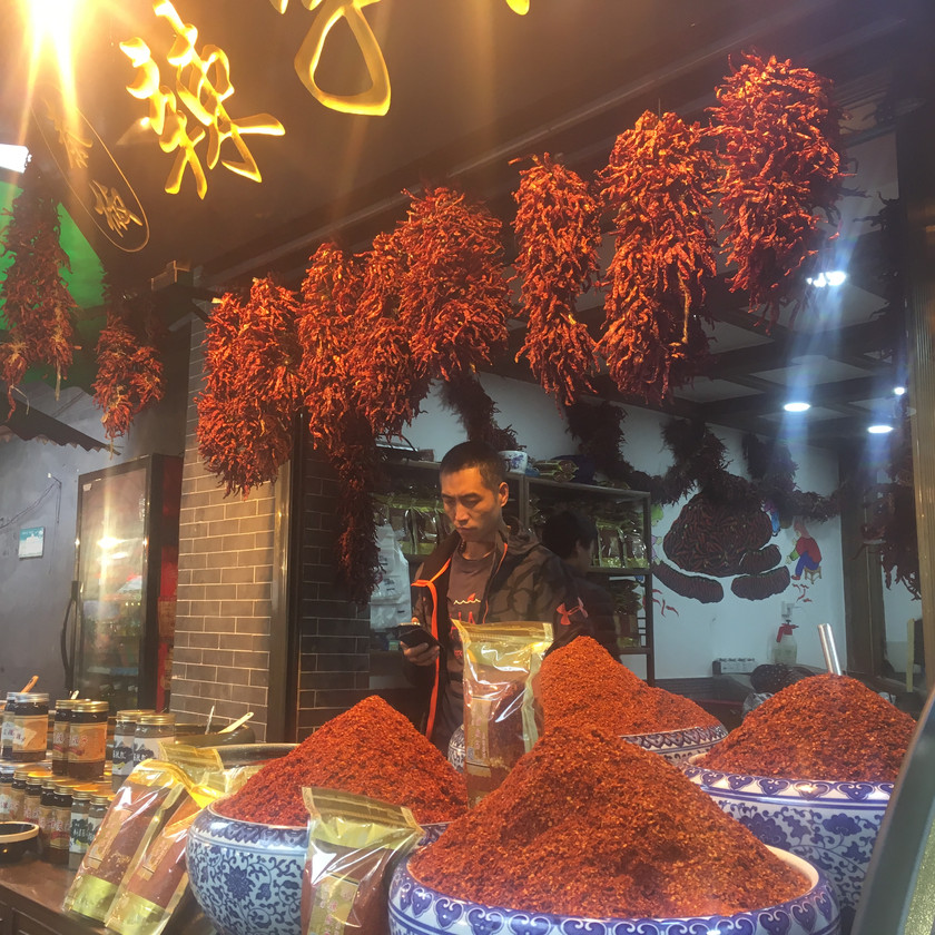 Fresh chili powder for sale in Xian
