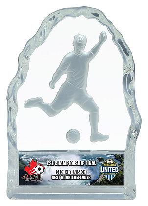 Glass Iceberg Trophies