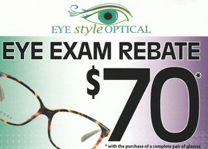 Eye Style Optical Direct Mail Campaign Front