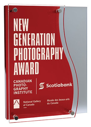 Red Malibu Acrylic Award