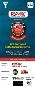 YMCA Road Hockey Flyer Front