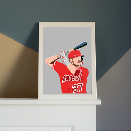 Mike Trout Print