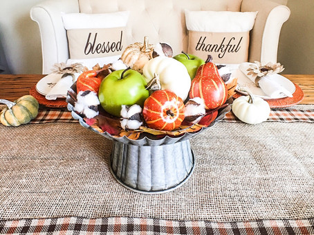 Fall-ing Over Decor