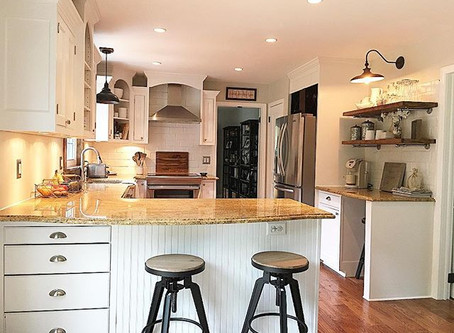 Farmhouse Style Kitchen on a Budget