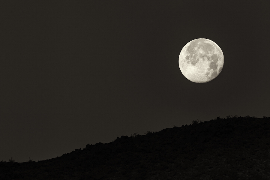 Soda Lake Moon