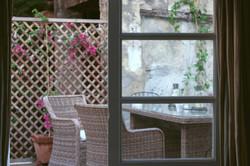 Beautiful Spanish Country Courtyard