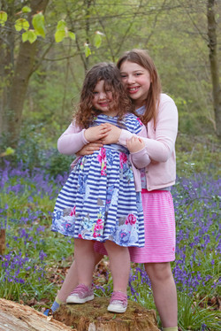 Family Photos in the Bluebells