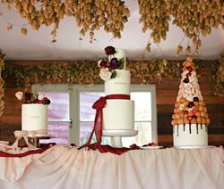 Wedding Cake Table in Surrey
