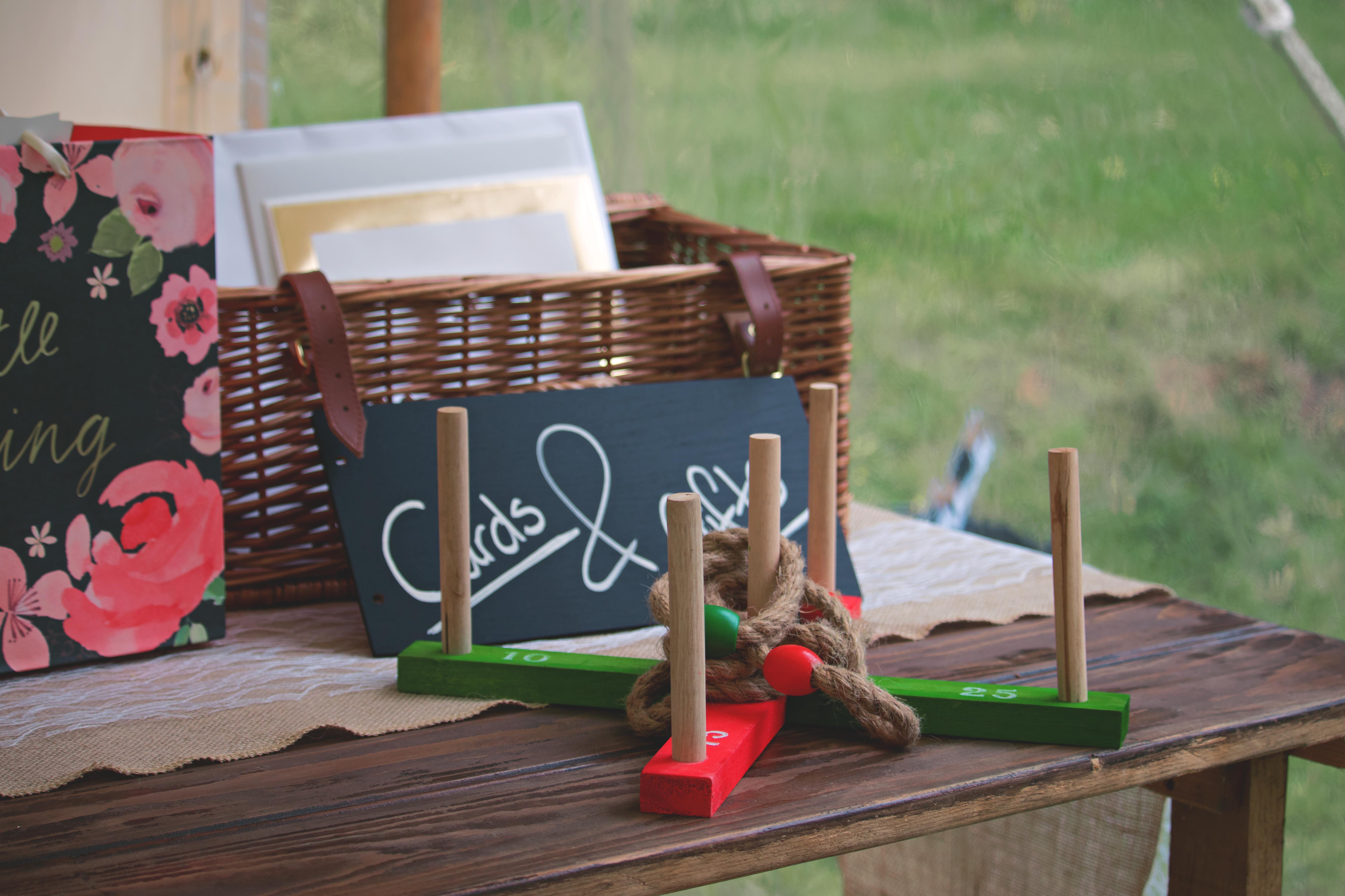 Wedding Games Table