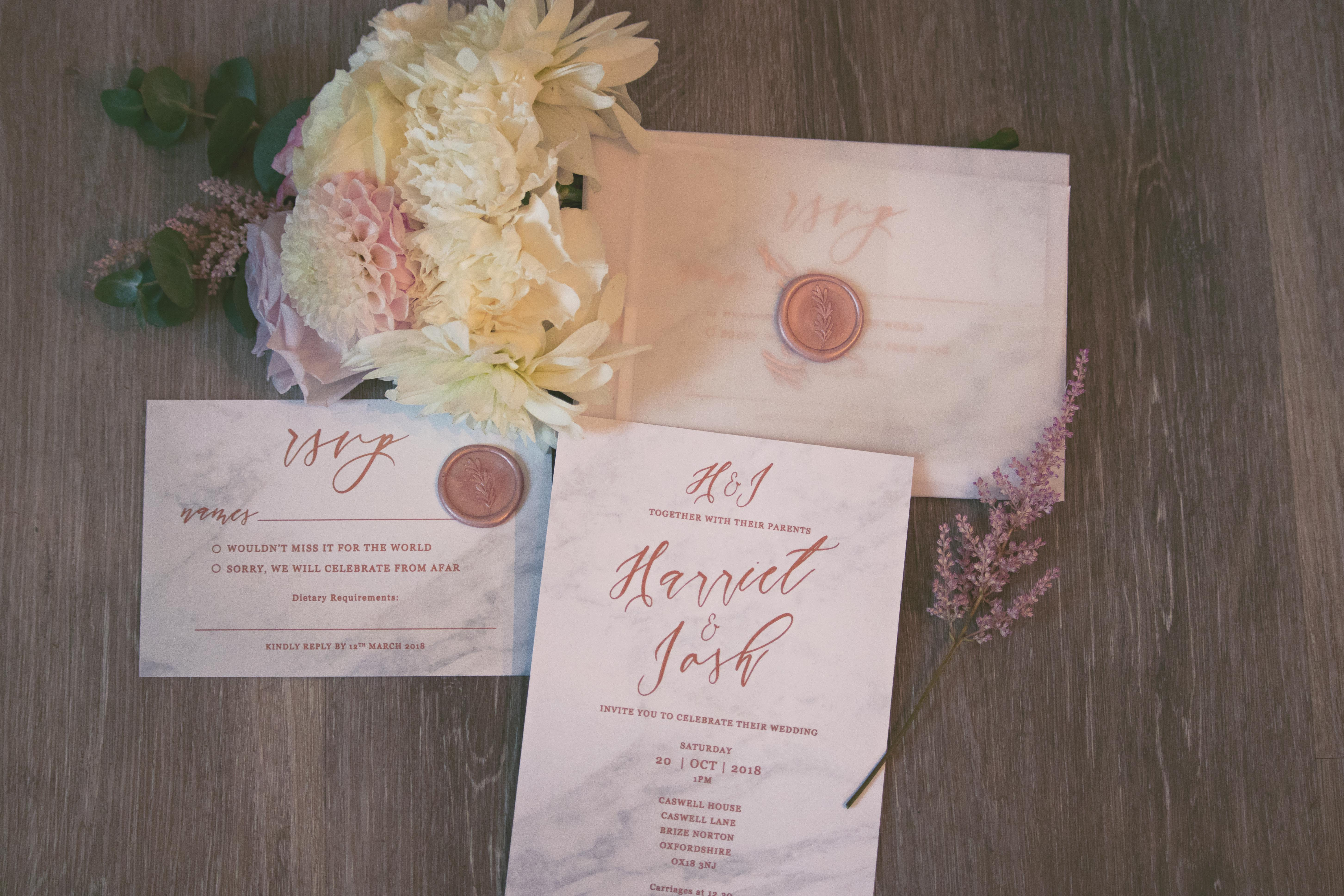 Delicate Wedding Stationery