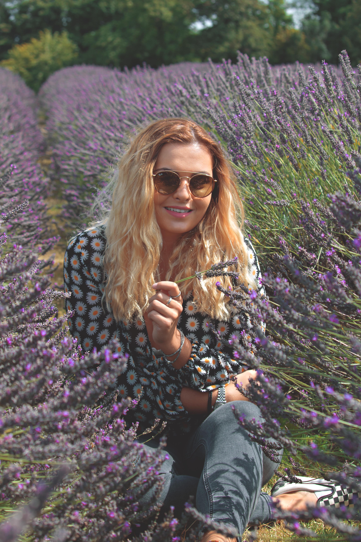 Lavender Branding Shoot at Mayfield Lavender