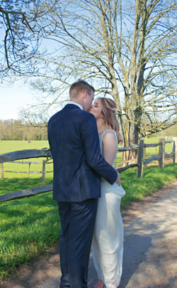 Documentary Couple Shots at Surrey Wedding