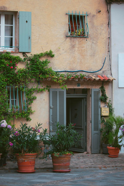 Beautiful Houses in Grimaud