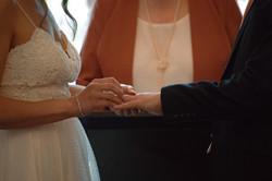 Intimate Wedding Ceremony, Surrey
