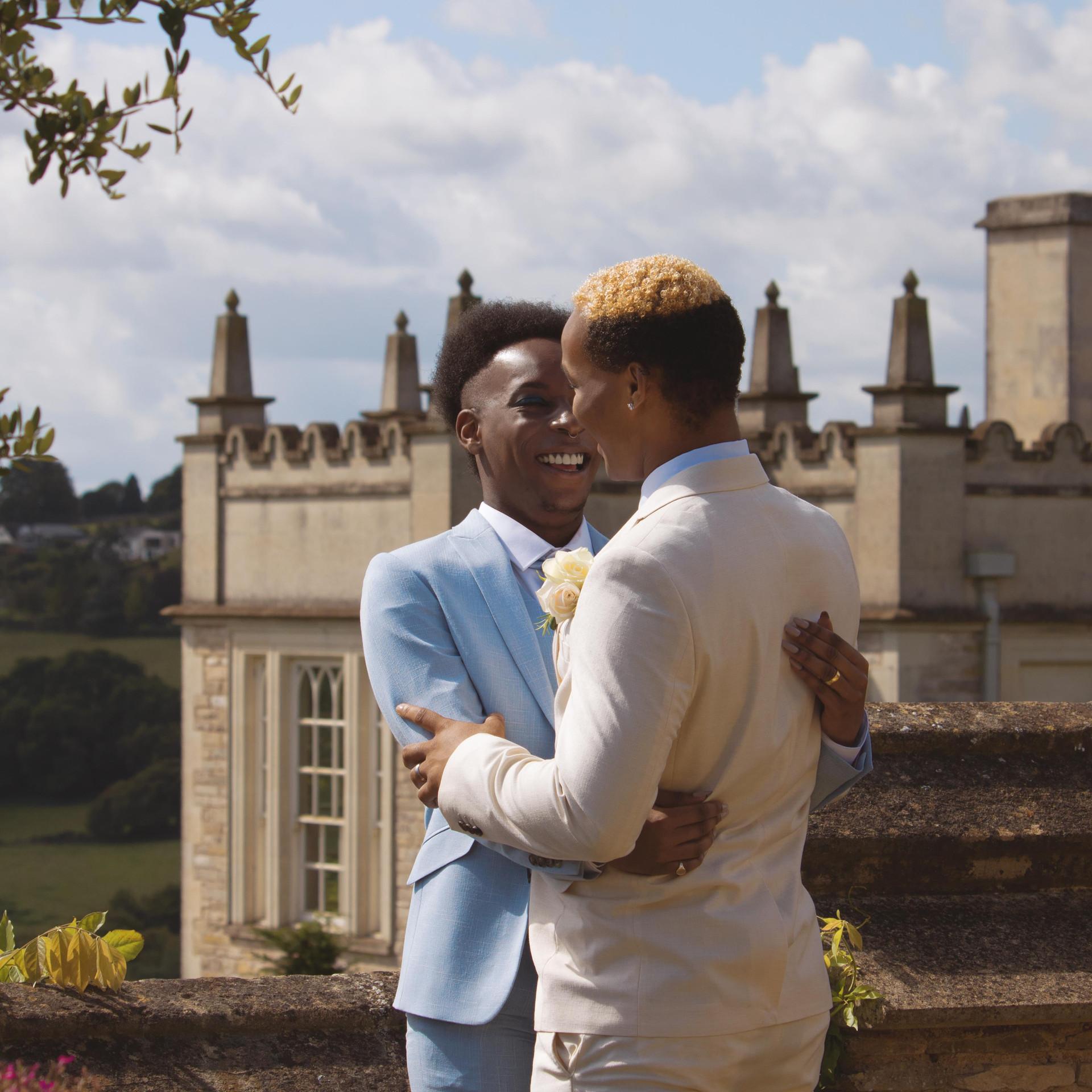 Stunning English Castle Wedding