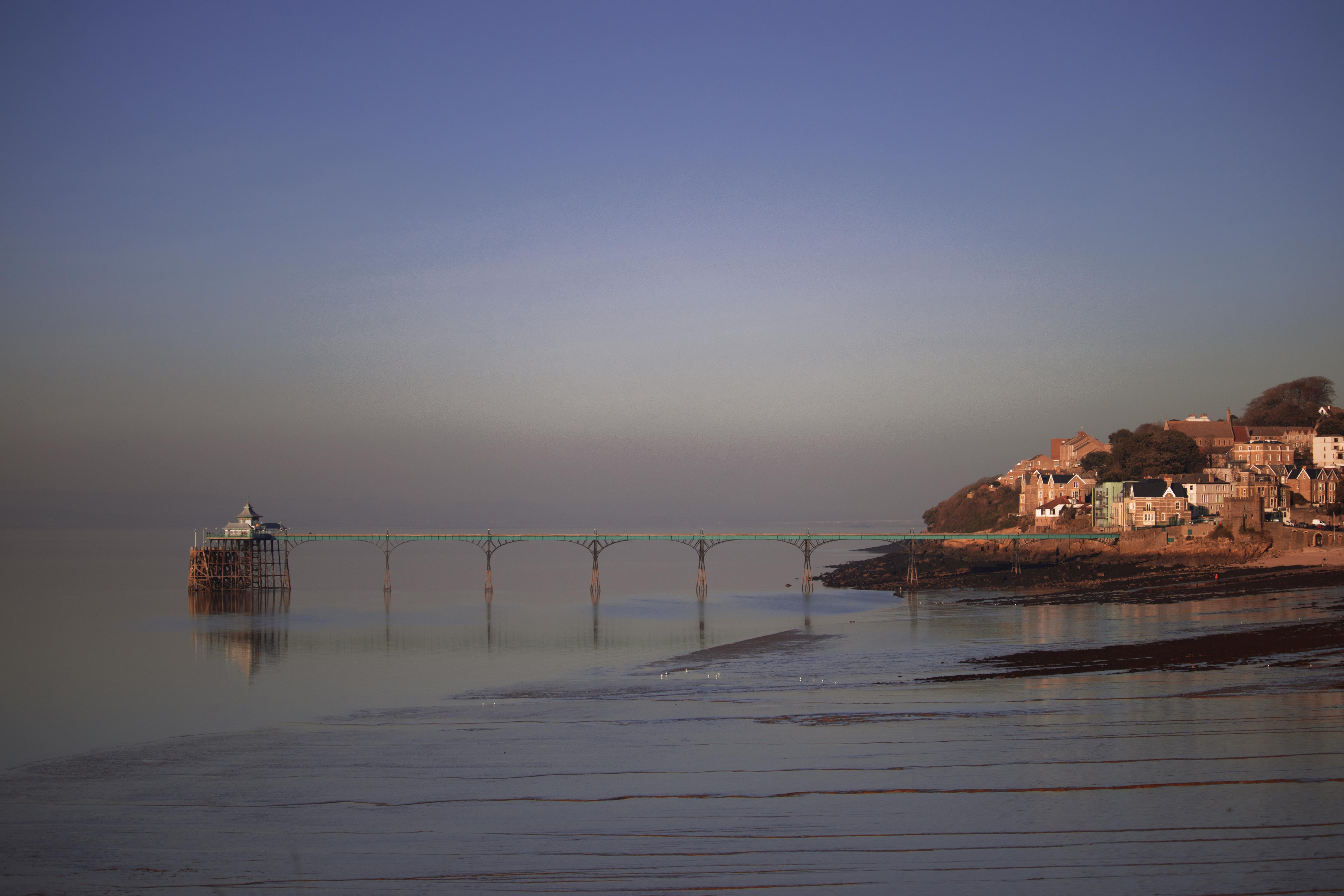Clevedon Seaside Town Images