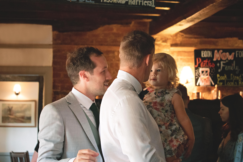Relaxed Pub Pre Wedding Shots