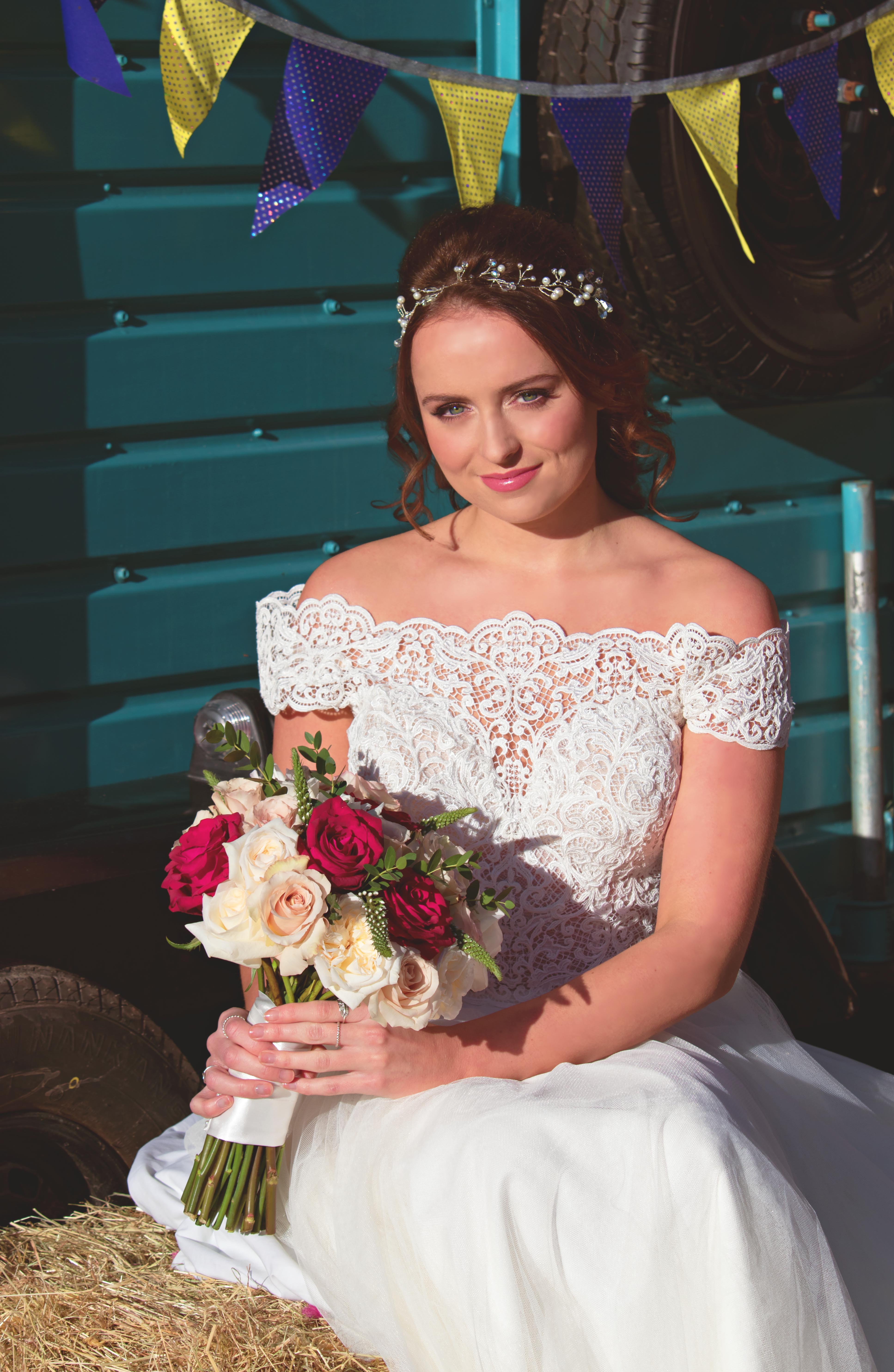 Fairy-tale Bridal Portraits at Walton Castle