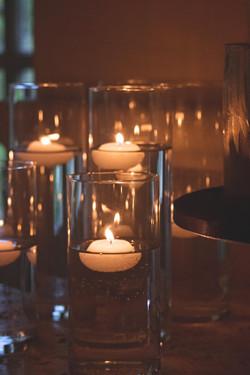 Romantic Wedding Reception Details at Euridge Manor