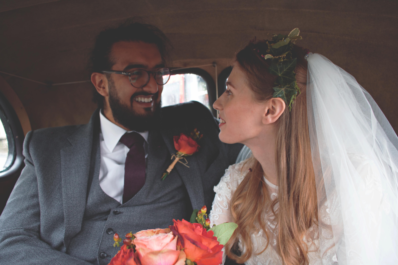 Wedding Car Couple Shots