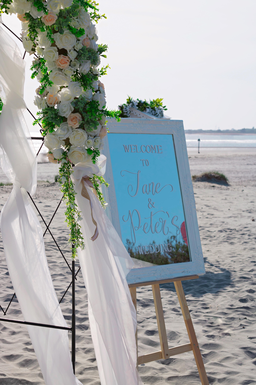 Beach Wedding Wedding Details