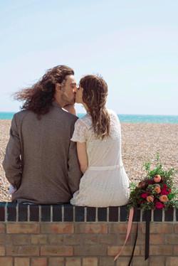 Documentary Seaside Couple Portraits
