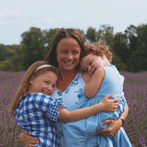 Family Photography at the Lavender Fields