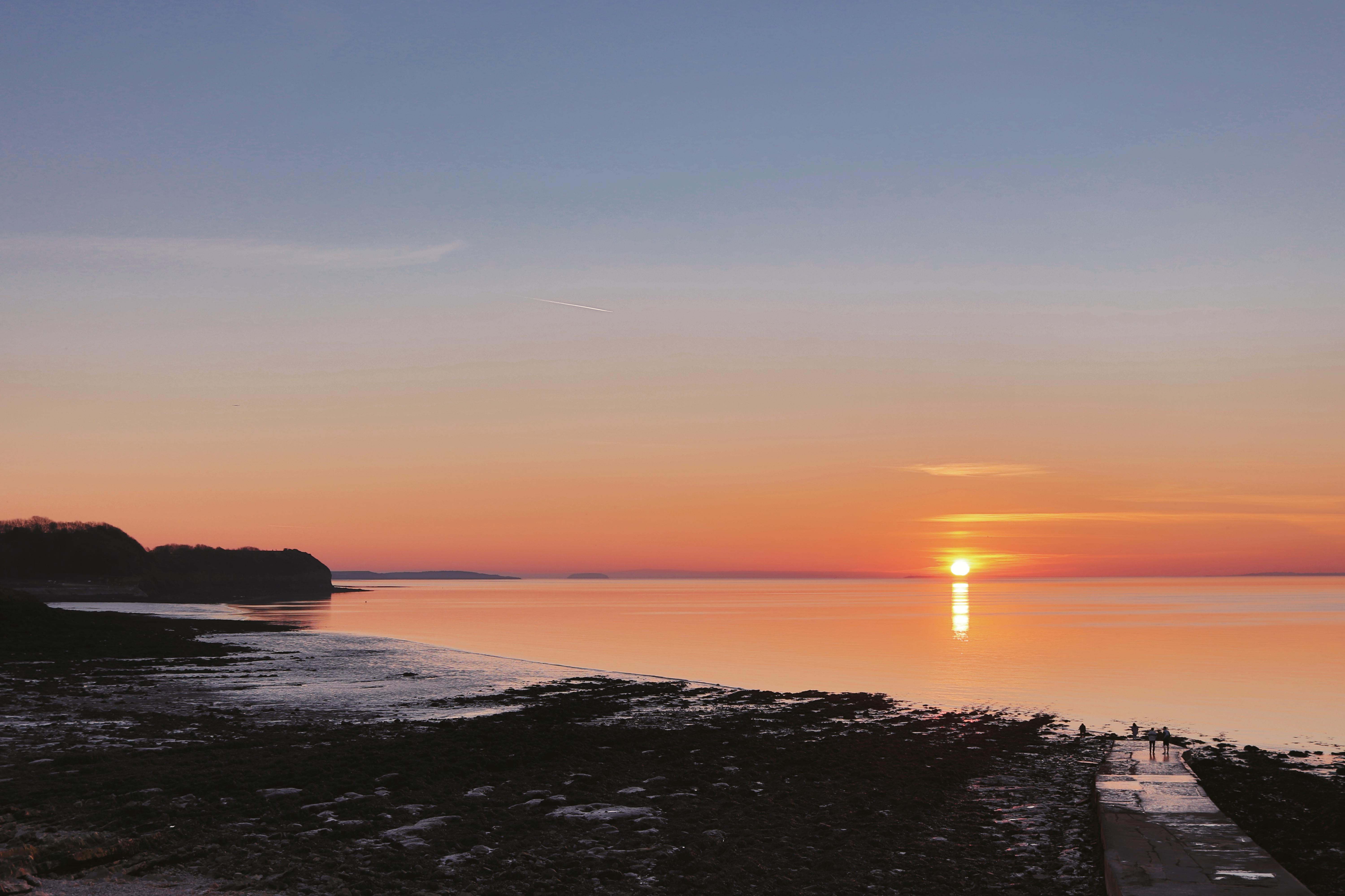 Sunset Landscape Photography Clevedon Beach