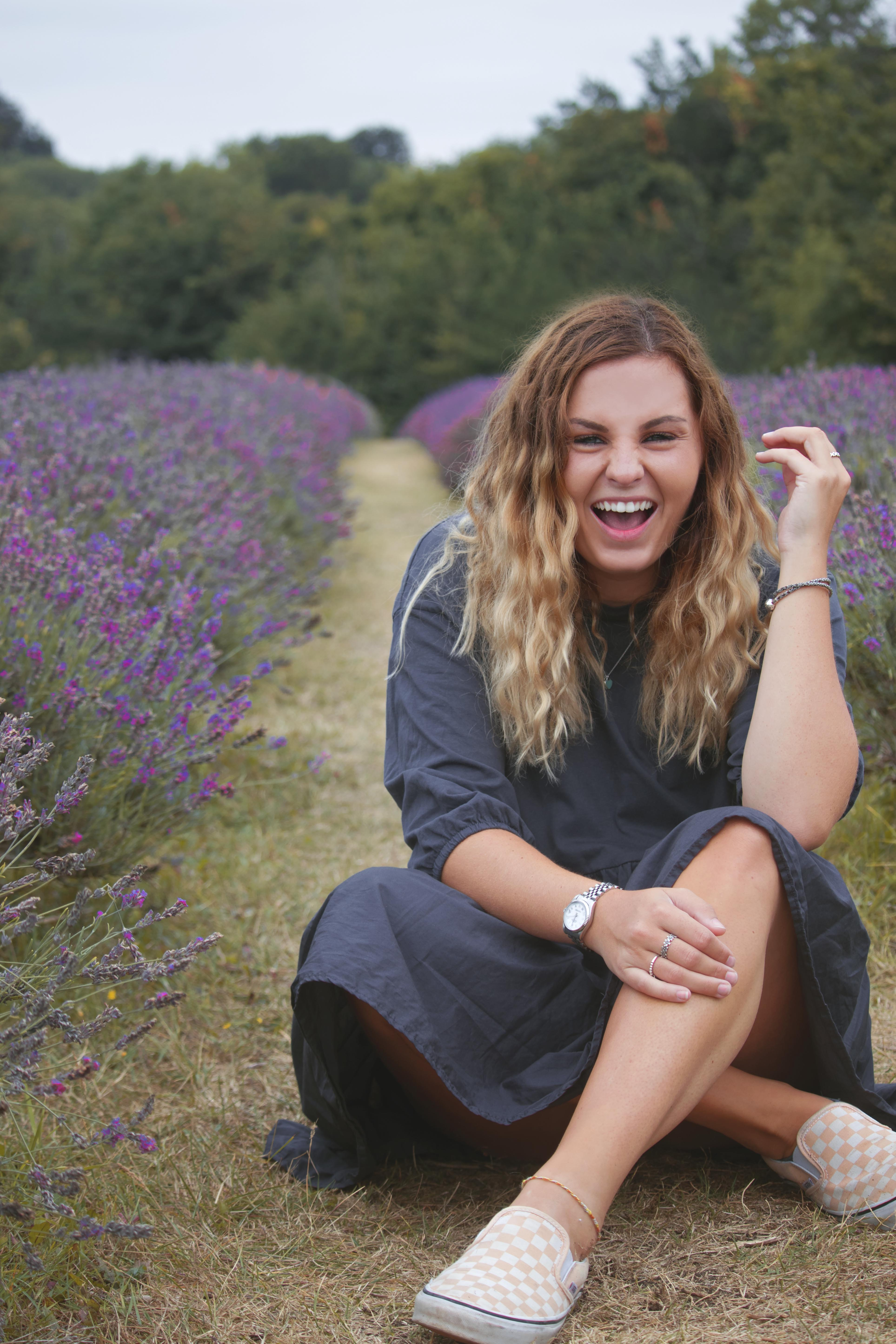 Branding Shoot at Mayfield Lavender