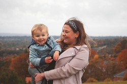 Autumnal Family Portraits in Surrey