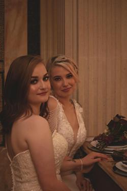 Romantic Bridal Portraits at Euridge Manor Wedding Reception