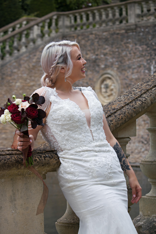 Relaxed Bridal Portrait at Euridge Manor