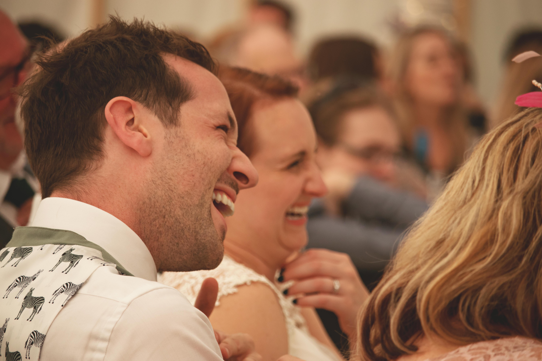 Candid Wedding Speech Photos