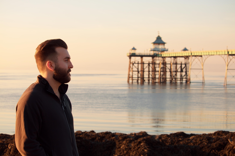 Clevedon Pier Portrait Portrait Photography
