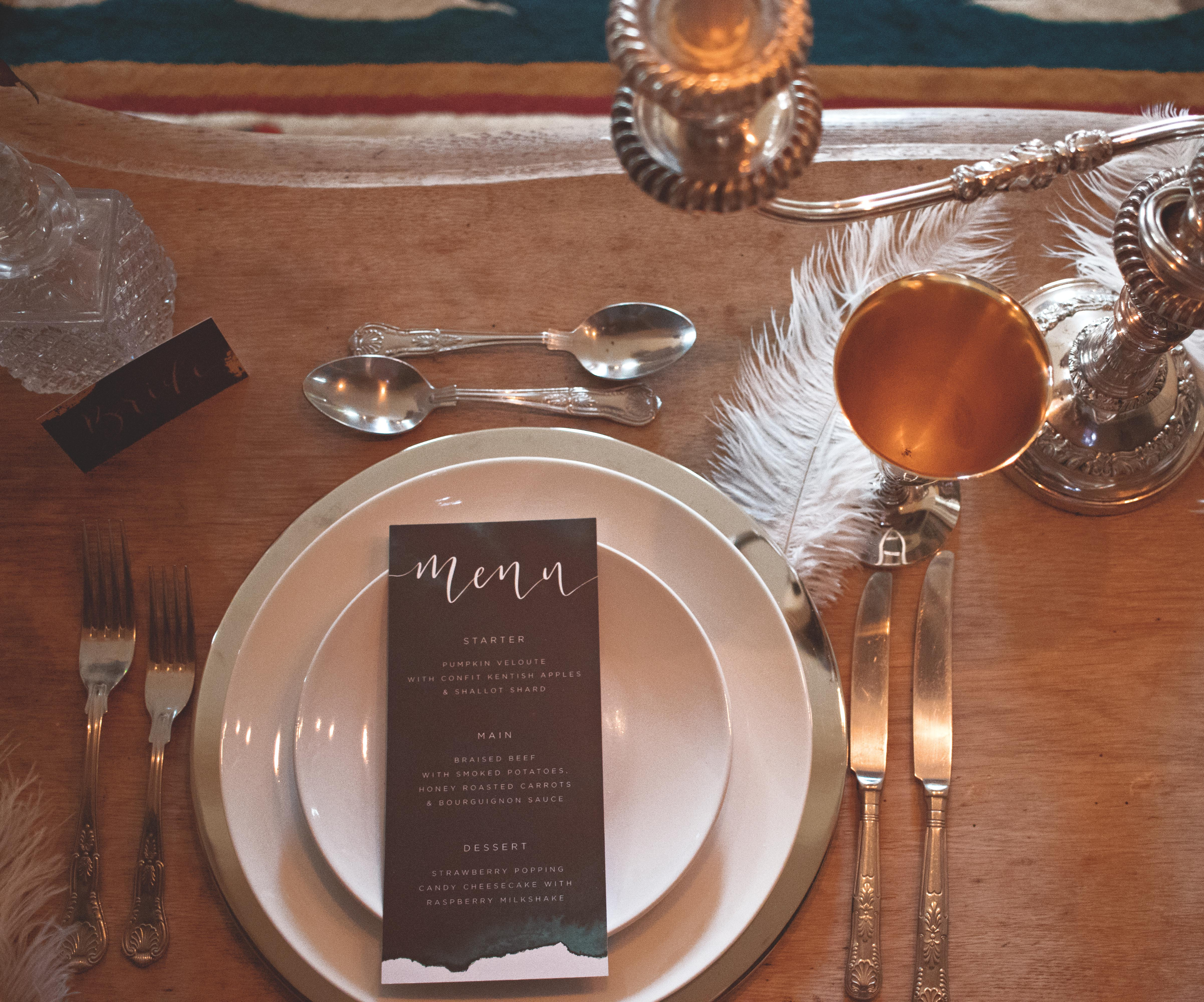 1920s Wedding Table Details