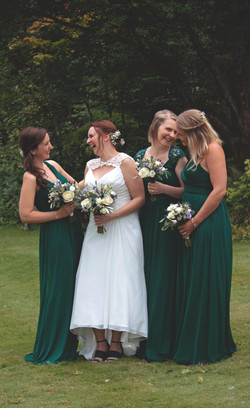 Bride & Bridesmaids Relaxed Photography