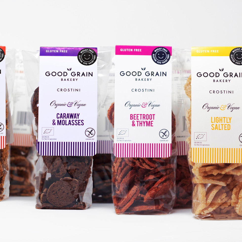 Pack Photography for The Good Grain Company