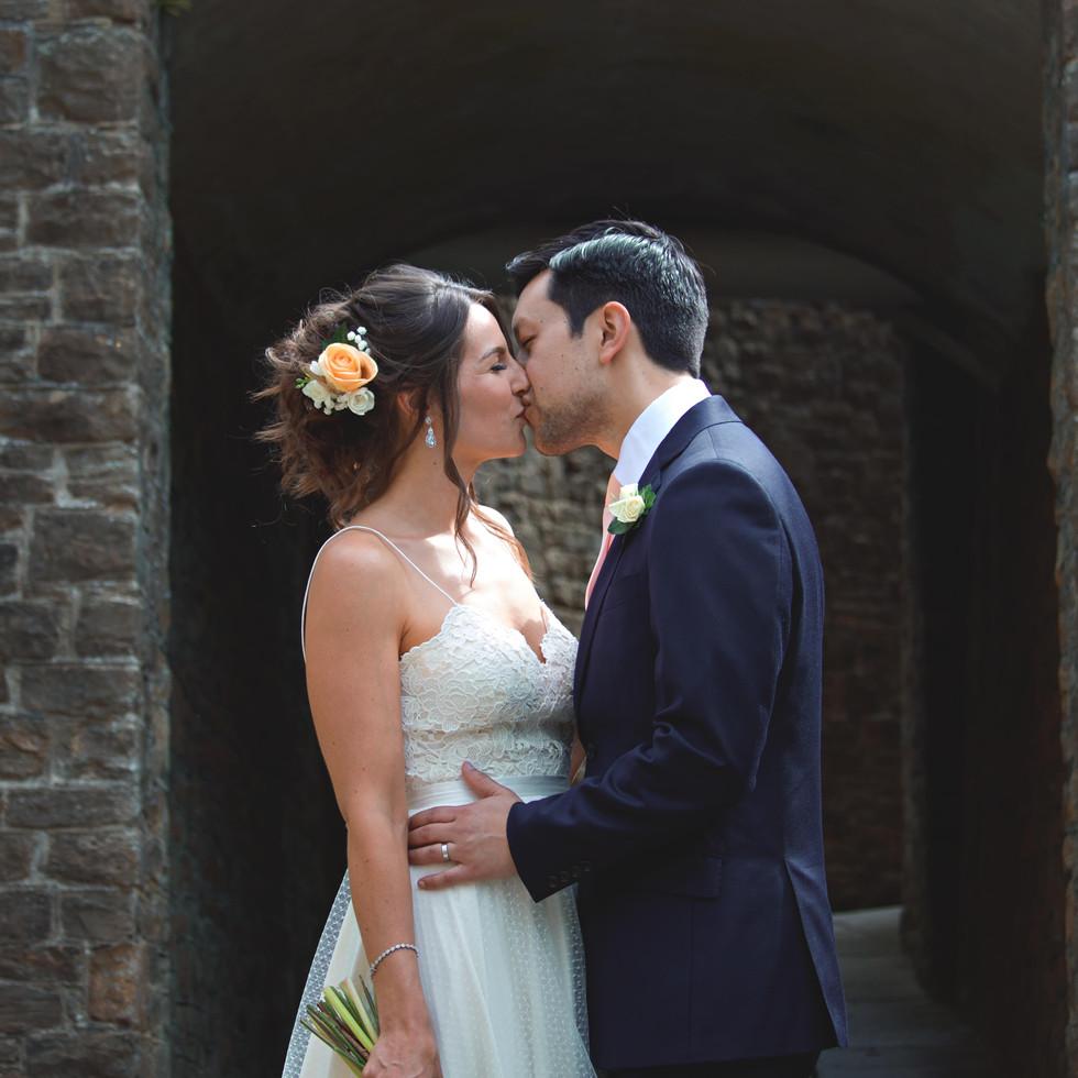 Romantic Couple Shots at Guildford Castl