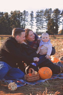 First Pumpkin Picking Session