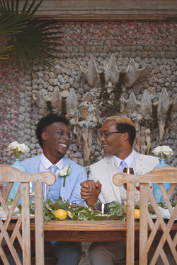 Romantic Shots at Same Sex Wedding Reception