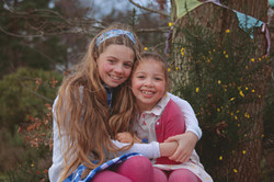 Sisters at Easter Time