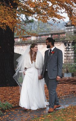 Autumnal Wedding Photography in Bath